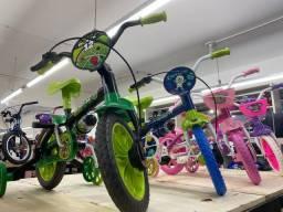 Super promoçao de bicicleta aro 12 infantil nova