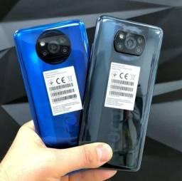 Poco X3 64 GB/6GB Ram Azul/Cinza