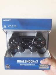 Controle Ps3 Sony Sem Fio (Primeira Linha)