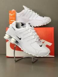 Tênis Masculino Nike Shox 4 Molas - Branco!