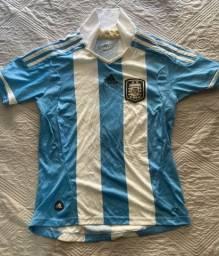Camisa Oficial Adidas (M infantil) - Seleção Argentina