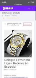 Relógio Feminino Lige - Promoção especial