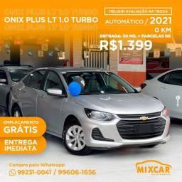 Ônix Plus LT 1.0 Turbo Zero KM!