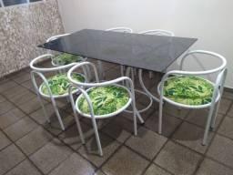 Meda de jantar 6 cadeiras
