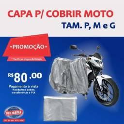 Promoção! Capa para cobrir moto, P,M,G  ? Entrega gráti