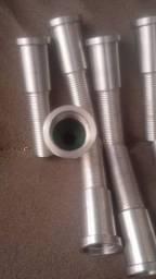 Polongador 100% Inox Para Torneira De Chopp 5/8 150mm