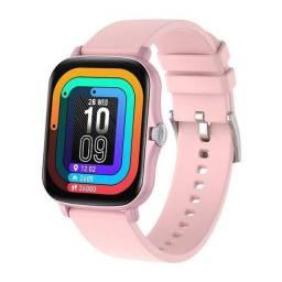 Título do anúncio: SmartWatch Lige Pink Y20/P8 Plus A Prova D'água NOVOS EMBALADOS