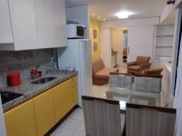 Lindo Flat Mobiliado à Beira-Mar de Boa Viagem c/ Taxas Inclusas