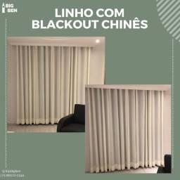 Título do anúncio: Linho com blackout chinês