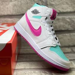 Tênis Nike Jordan Botinha Feminina - Varias cores - Envio imediato