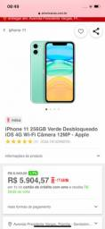 IPhone 11 de 256 Gb Verde - zerado