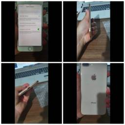 IPhone 8 plus gold sem marcas de uso
