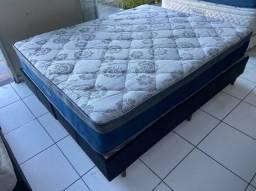 cama box queen size - Ortobom - entrego