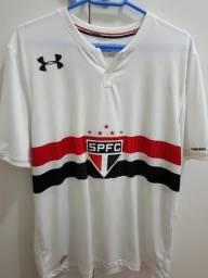 607a3ede44b85 Camisa São Paulo Branca S N Original Tam G