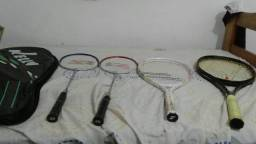 4 raquetes de tenis profissional