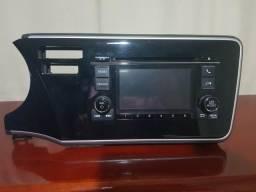 Central de Audio /Multimídia Original Honda City /Troco