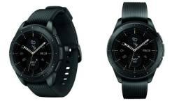 Relógio smartwatch samsung gear sm-r810 42mm - preto (gar-py/ar/ur)