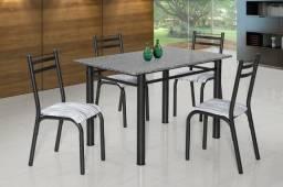 Mesa de Granito com 4 cadeiras Nova