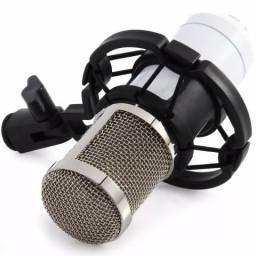 Microfone condensador bm800 para studio e PC