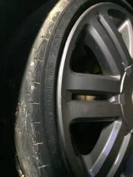 Troco jogo de pneus 165/40/15 por um jogo de pneus com perfil um pouco maior