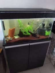 Vendo aquário de 100 litros