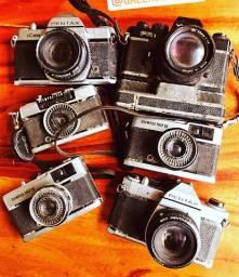 Lote de Cameras antigas 800,00