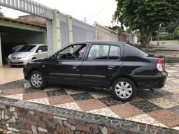 Clio Sedan Authentique 1.6 16V completo ; só de bsb; DUT em branco - 2007