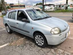 Clio sedan 1.0 -super oferta - lindo carro