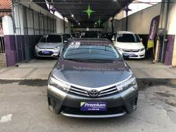Corolla GLi 1.8 2016 - Aut + couro + Gnv injetável