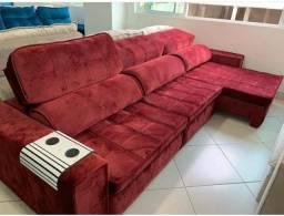 Sofá planejado padrão luxo( cinco anos de garantia)