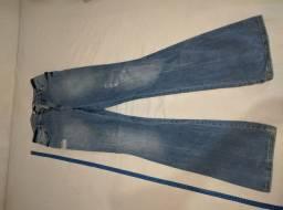 Calça jeans Blue steel feminina tamanho 38