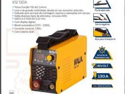 Máquina De Solda Inversora Kala KSI130 Bivolt Digital Função Tig