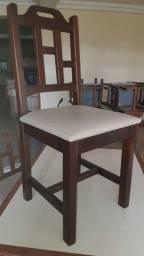 Conjunto 1 mesas e 4 cadeiras