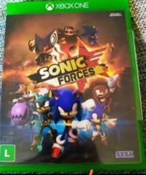 Jogo Sonic forces para Xbox one usado