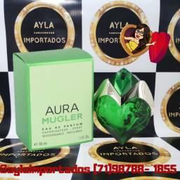 Perfume Thierry Mugler Aura EDP<br> 30ml -<br>Selo Adipec/Batch Code/Nota Fiscal
