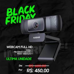 Webcam Full Hd 1080p *Excelente - Maior abertura