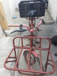 Vendo bicicleta de carga perfeito estado