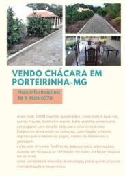 Vendo chácara em Porteirinha MG