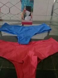 Kit 7 calcinhas diamantes lingerie