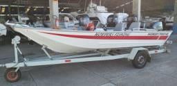 Barco Ecologia 16 pés - Troco por Floripa 160