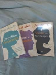 Kit 3 livros Jane Austen