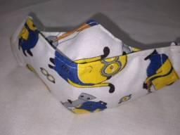 Máscaras 3D Infantil Menino Personagens