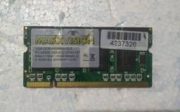 Título do anúncio: Memória 1 GB Ddr-400Mhz-cl3 - Usado