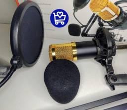 Kit Microfone Condensador (entrega grátis)