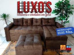 Mega semana do Preço Baixo , Sofa de Luxo Direto da Fábrica, Ganhe Brinde exclusivo