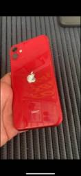 IPhone 11 red, 64 gb.