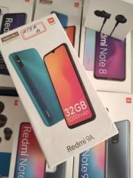 Esse vale! Redmi 9A da Xiaomi.. Novo LACRADO Garantia entrega hj