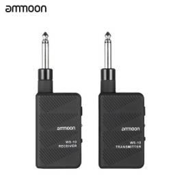 Ammoon Ws-10 Digital 2.4ghz Audio Guitarra Elétrica Sem Fio