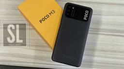 Título do anúncio: :) Pocophone M3 64Gb + 4Gb Ram Global Preto(:Que tal ter esse celular?(: