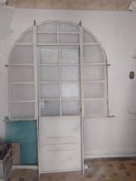 Porta de ferro esquadrias